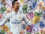 Vượt Federer, Ibrahimovic: Siêu sao Ronaldo kiếm tiền  vô đối  châu Âu