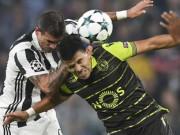 Kết quả bóng đá Juventus - Sporting Lisbon: Vất vả sửa sai phản lưới nhà (Hiệp 1)