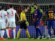 """Barcelona - Olympiakos:  """" Món quà """" , thẻ đỏ và đại tiệc"""