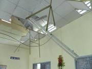 Nguyên nhân sập trần phòng học khiến 9 HS bị thương