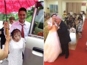 """Đám cưới của 4 cặp đôi  """" đũa lệch """"  khiến dân tình xôn xao"""