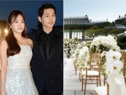 Song Hye Kyo tốn 2 tỷ đồng thuê địa điểm cưới hoành tráng nhất Hàn Quốc