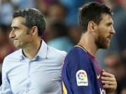 """Barca-Valverde tròn 100 ngày: Từ  """" bại tướng """"  Việt Nam đến đưa Messi trở lại"""
