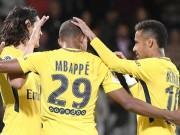 Bộ ba Neymar-Cavani-Mbappe cực đỉnh, PSG hóa  mãnh thú  trời Âu