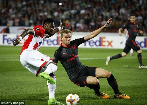 Chi tiết Crvena Zvezda - Arsenal: Người hùng quen mặt (KT) 21