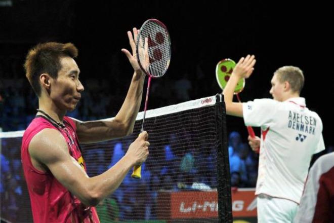 """Cầu lông: Lee Chong Wei thua tê tái, ai cản nổi """"Siêu nhân"""" Axelsen 1"""