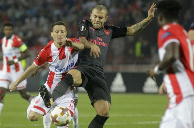 Crvena Zvezda - Arsenal: Siêu phẩm đẹp mắt, chiến quả khó nhọc