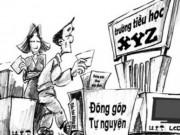 Thanh Hóa: Lạm thu, một hiệu trưởng bị phạt 10 triệu đồng
