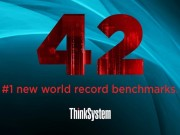 Lenovo công bố các kỷ lục thế giới của dòng máy chủ ThinkSystem mới