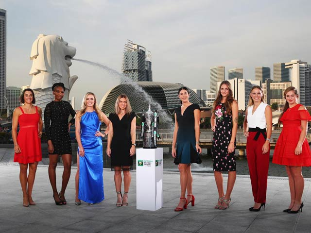 Cập nhật WTA Finals ngày 1: Người đẹp thắng thế 6