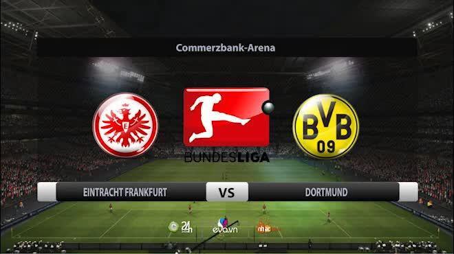 Frankfurt - Dortmund: 4 phút xuất thần, ngược dòng ngoạn mục