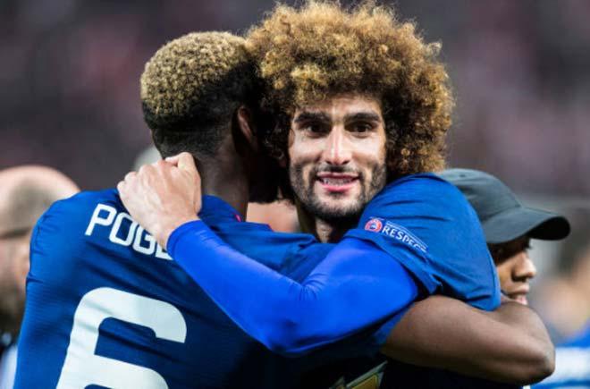 Góc chiến thuật Huddersfield – MU: Cái bóng quá lớn của Pogba - Fellaini 1
