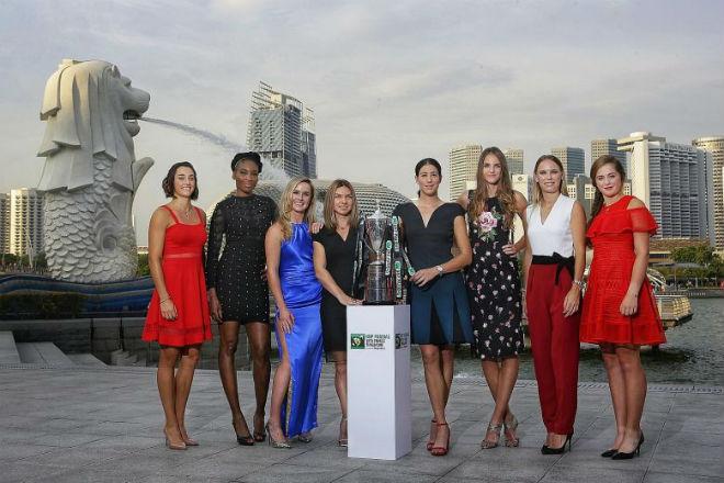 Cập nhật WTA Finals ngày 1: Người đẹp thắng thế 1