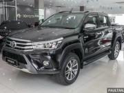 Toyota Hilux nâng cấp có giá từ 469 triệu đồng
