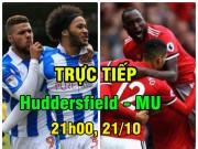 TRỰC TIẾP Huddersfield - MU: Rashford nhen nhóm hi vọng