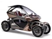 Yamaha MWC-4: Xe 4 bánh đến từ tương lai