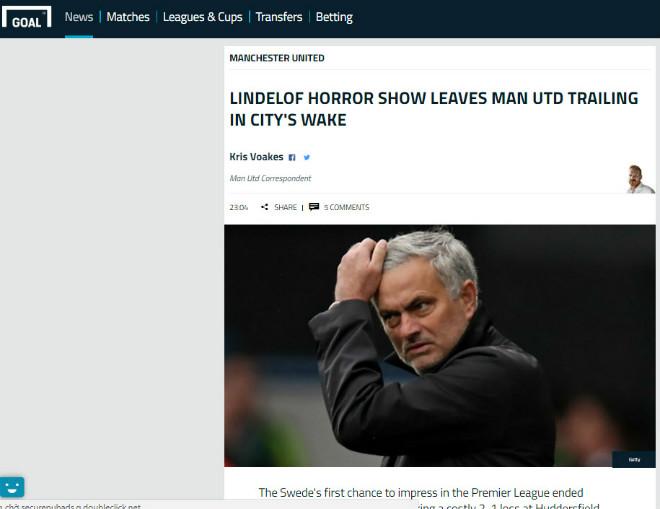 """MU thua sốc: Cựu sao MU chỉ trích """"người băng"""" Lindelof, Mourinho cạn niềm tin 6"""