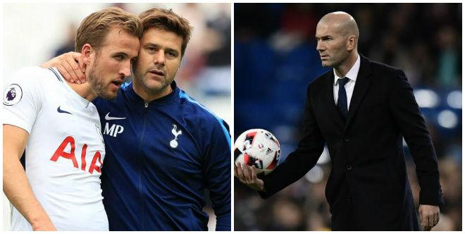 "Real gây sốc: Mua Kane 220 triệu euro, ""cuỗm"" Pochettino thay Zidane"