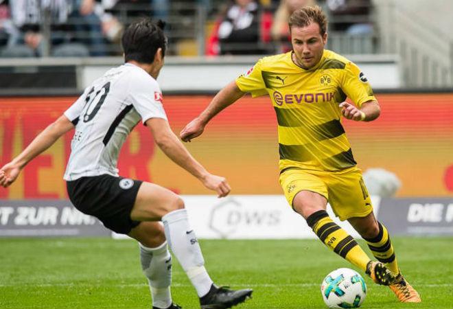 Video, kết quả bóng đá Frankfurt - Dortmund: 4 phút xuất thần, ngược dòng ngoạn mục - 1