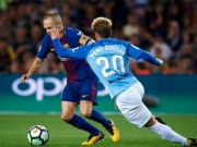 Video, kết quả bóng đá Barcelona - Malaga: Sai lầm trọng tài, bàn thắng khó hiểu