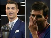 Ronaldo tranh  Cầu thủ hay nhất 2017 : Nhắc Messi... đến dự giải