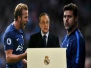 "Real gây sốc: Mua Kane 220 triệu euro,  "" cuỗm ""  Pochettino thay Zidane"
