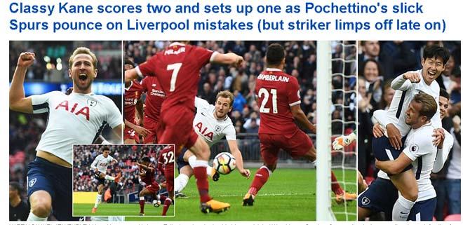 """Kane hủy diệt Liverpool: """"Ngon"""" hơn Lukaku, báo thân Real sợ hãi - 2"""