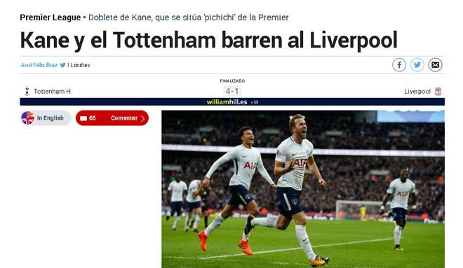 """Kane hủy diệt Liverpool: """"Ngon"""" hơn Lukaku, báo thân Real sợ hãi 3"""