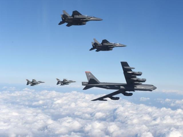 B-52 Mỹ lần đầu sẵn sàng chiến đấu kể từ Chiến tranh Lạnh