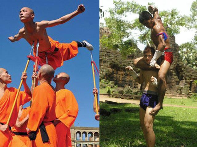 Đệ nhất Yi Long đấu cao thủ Thái Lan: Nhất chưởng tất sát, 1 đá ngất luôn 2
