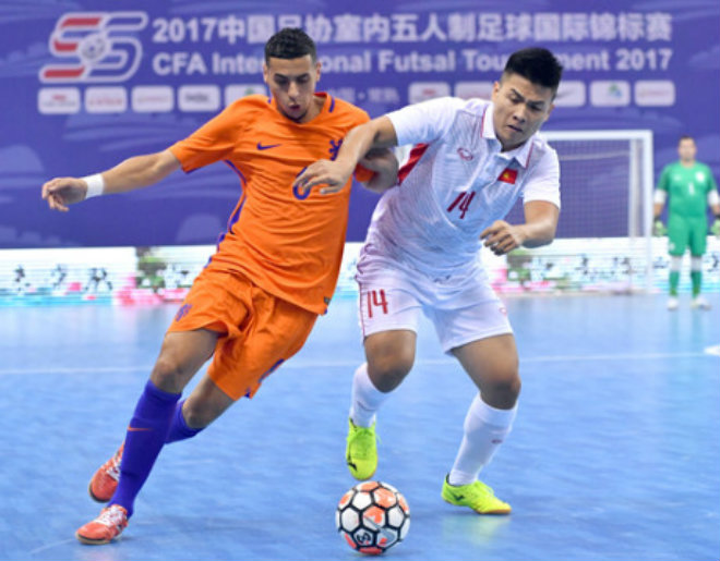"""Việt Nam tạo """"địa chấn"""": Cản bước """"cơn lốc màu da cam"""", xếp trên Trung Quốc (Futsal) 1"""