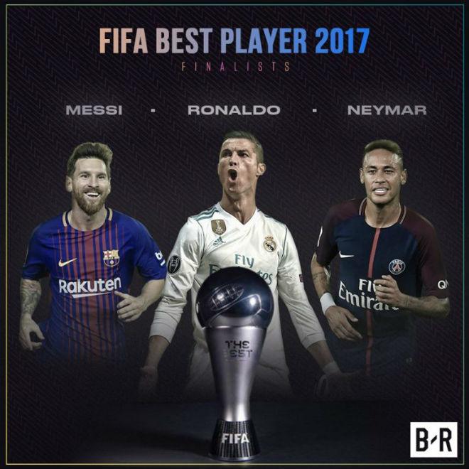 TRỰC TIẾP trao giải Cầu thủ xuất sắc nhất FIFA 2017: Ai cản nổi Ronaldo? 2