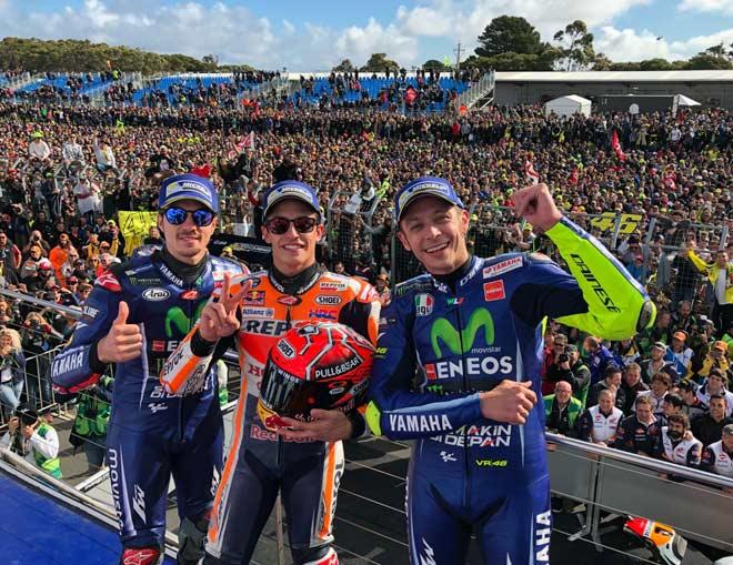 Đua xe MotoGP: Tính toán cáo già và thần may mắn hỗ trợ 3