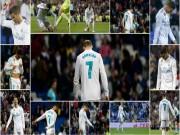 """Ronaldo  """" chân gỗ """" : 50 sắc thái giận dữ, tiếc nuối, bất lực trước nhược tiểu"""