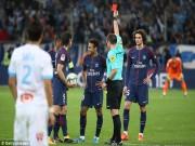 """Thuyết âm mưu: Neymar nổi loạn, nhận thẻ đỏ để  """" dằn mặt """"  HLV PSG"""