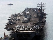 Tàu chiến lớn nhất của Mỹ ở châu Á cập cảng Hàn Quốc