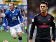 """Bàn thắng đẹp Ngoại hạng Anh vòng 9: Rooney  """" nã pháo """"  đọ siêu phẩm Sanchez"""