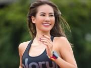 """Phát ghen vì thân hình nở hậu sexy của  """" kiều nữ chạy """"  Thái Lan"""