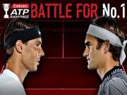 Bảng xếp hạng tennis 23/10: Federer vượt Nadal lên số 1, có gì khó?