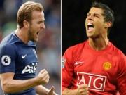 """Kane  """" dội bom """"  Ngoại hạng Anh: Vượt Ronaldo, siêu kỉ lục chỉ là  """" muỗi """""""