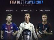 TRỰC TIẾP trao giải Cầu thủ xuất sắc nhất FIFA 2017: Ai cản nổi Ronaldo?