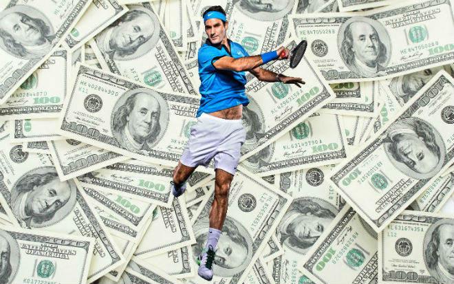 """Federer chờ soán ngôi số 1 Nadal, vượt Djokovic kỷ lục """"hái tiền"""" 3"""