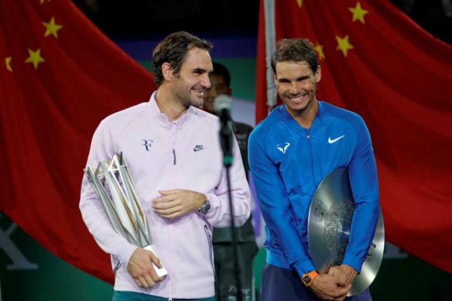 """Federer chờ soán ngôi số 1 Nadal, vượt Djokovic kỷ lục """"hái tiền"""" 1"""