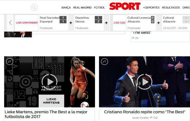 """Ronaldo hay nhất: Báo chí kính nể tôn là """"Vua"""", Messi - Ronaldo không bầu cho nhau - 2"""