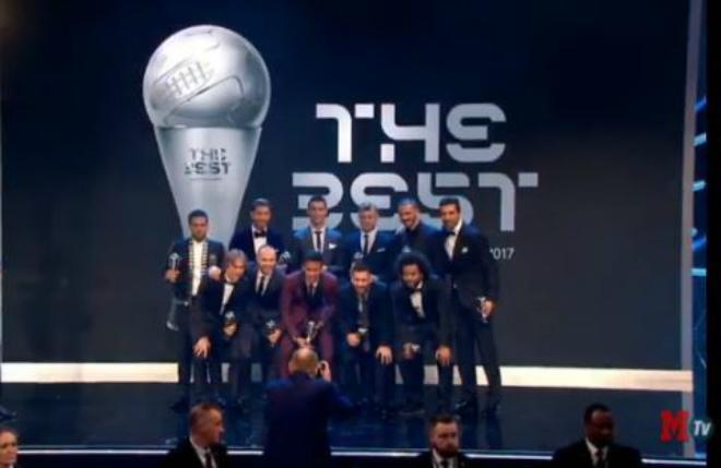 TRỰC TIẾP trao giải Cầu thủ xuất sắc nhất FIFA 2017: Real áp đảo đội hình hay nhất năm 2