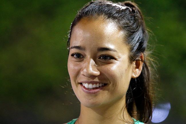 Hoa khôi quần vợt tiếp lửa Hoàng Nam ra quân Vietnam Open 7
