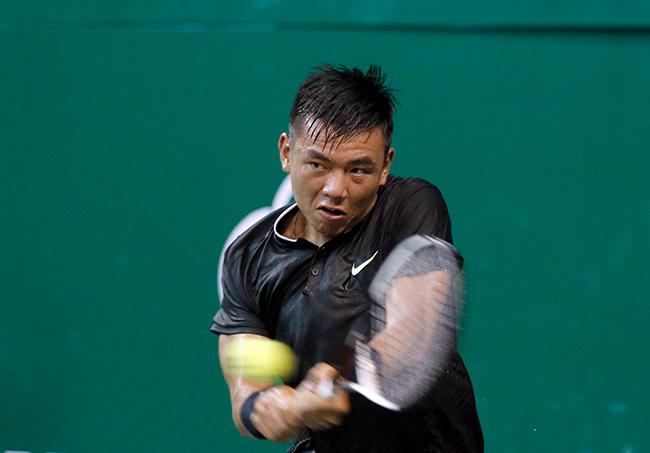 Hoa khôi quần vợt tiếp lửa Hoàng Nam ra quân Vietnam Open 9