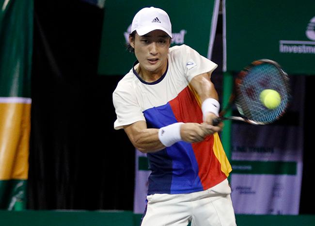 Hoa khôi quần vợt tiếp lửa Hoàng Nam ra quân Vietnam Open 10