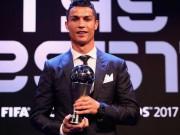 Ronaldo xuất sắc nhất 2017: Biết ơn Real,  đá xoáy  Messi