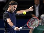 """Basel Open ngày 1: Federer đau đầu vì đụng  """" hàng cứng """""""
